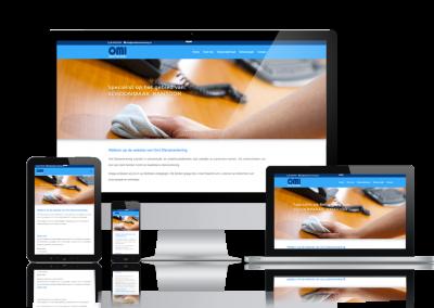 Responsive website schoonmaakbedrijf